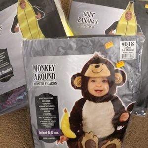 """Other - """" we are bananas for our monkey"""" Family costume"""